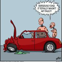 Even Crash Dummy Parents Have It Tough