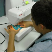 """""""Sewing isn't right for boys."""""""