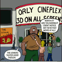Why You Don't Invite Cyclops To The Movies